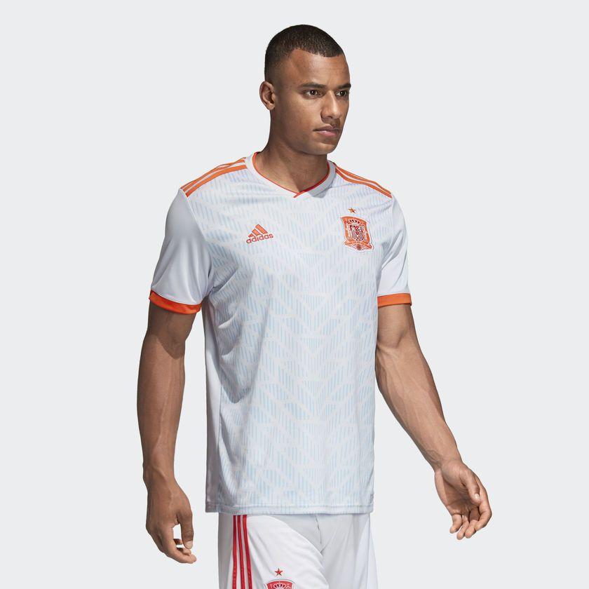 Camisa Espanha Away Adidas 2018