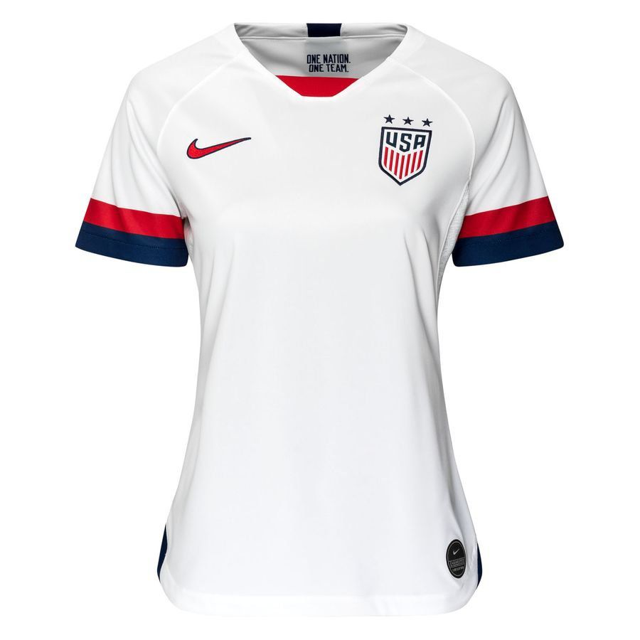 Camisa Estados Unidos Home Nike 2019 Feminina