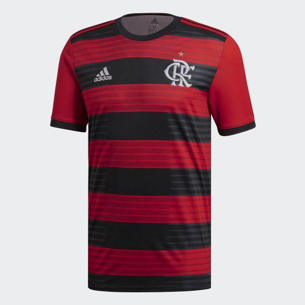 Camisa Flamengo I Adidas 2018-19