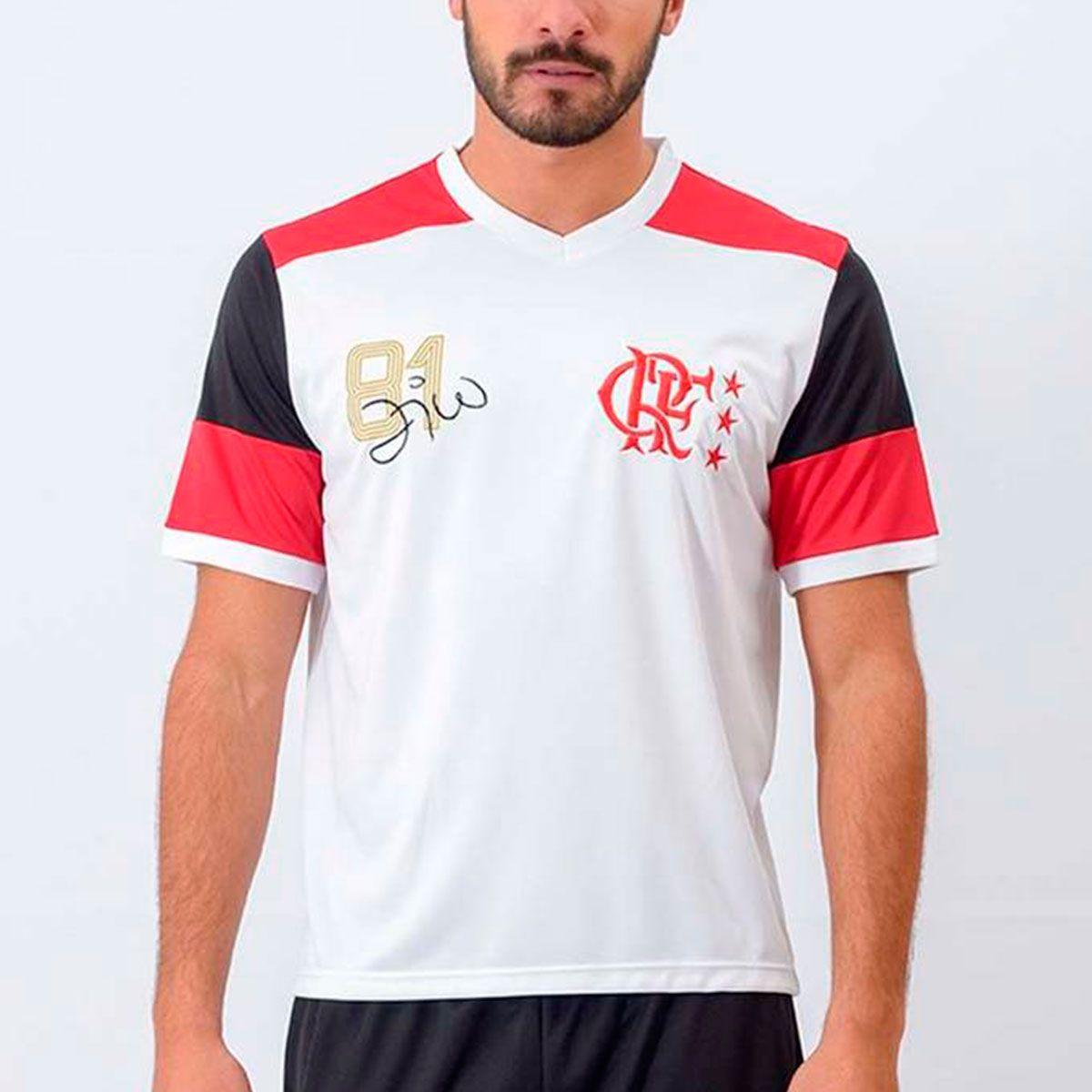 Camisa Flamengo Libertadores Zico 81 Retrô 42ad2886eecd6