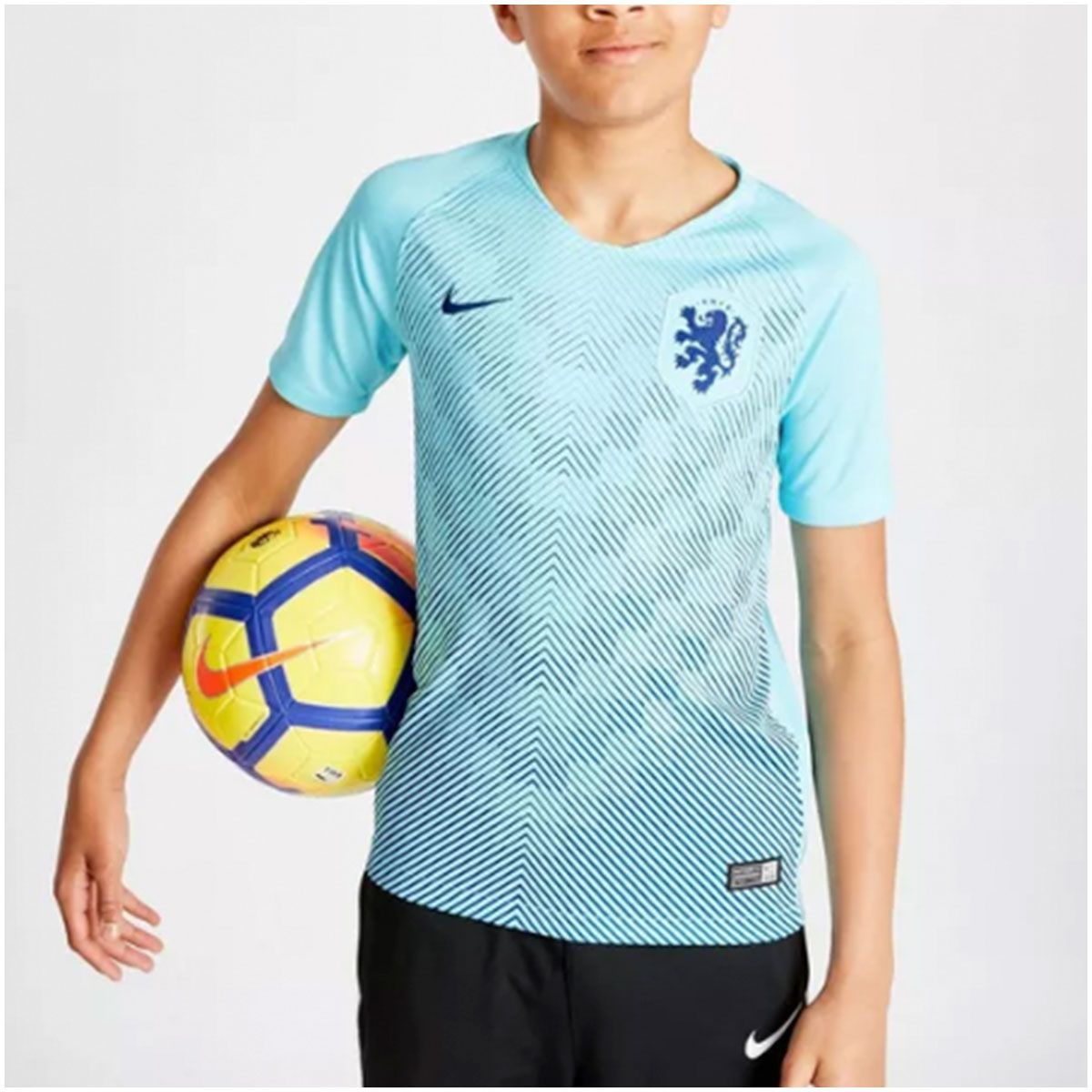 Camisa Holanda Away Nike 2018 Infantil