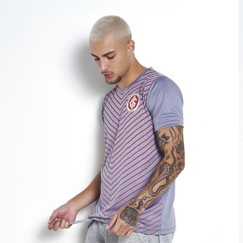 Camisa Internacional Momentus Gola Careca Dry 100% Poliester