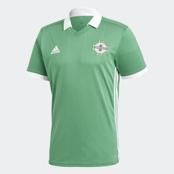 Camisa Irlanda do Norte Home Adidas 2018