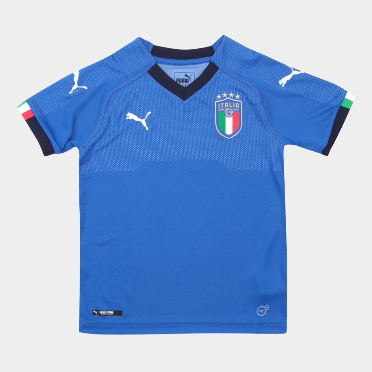 Camisa Itália Home Puma 2018-19