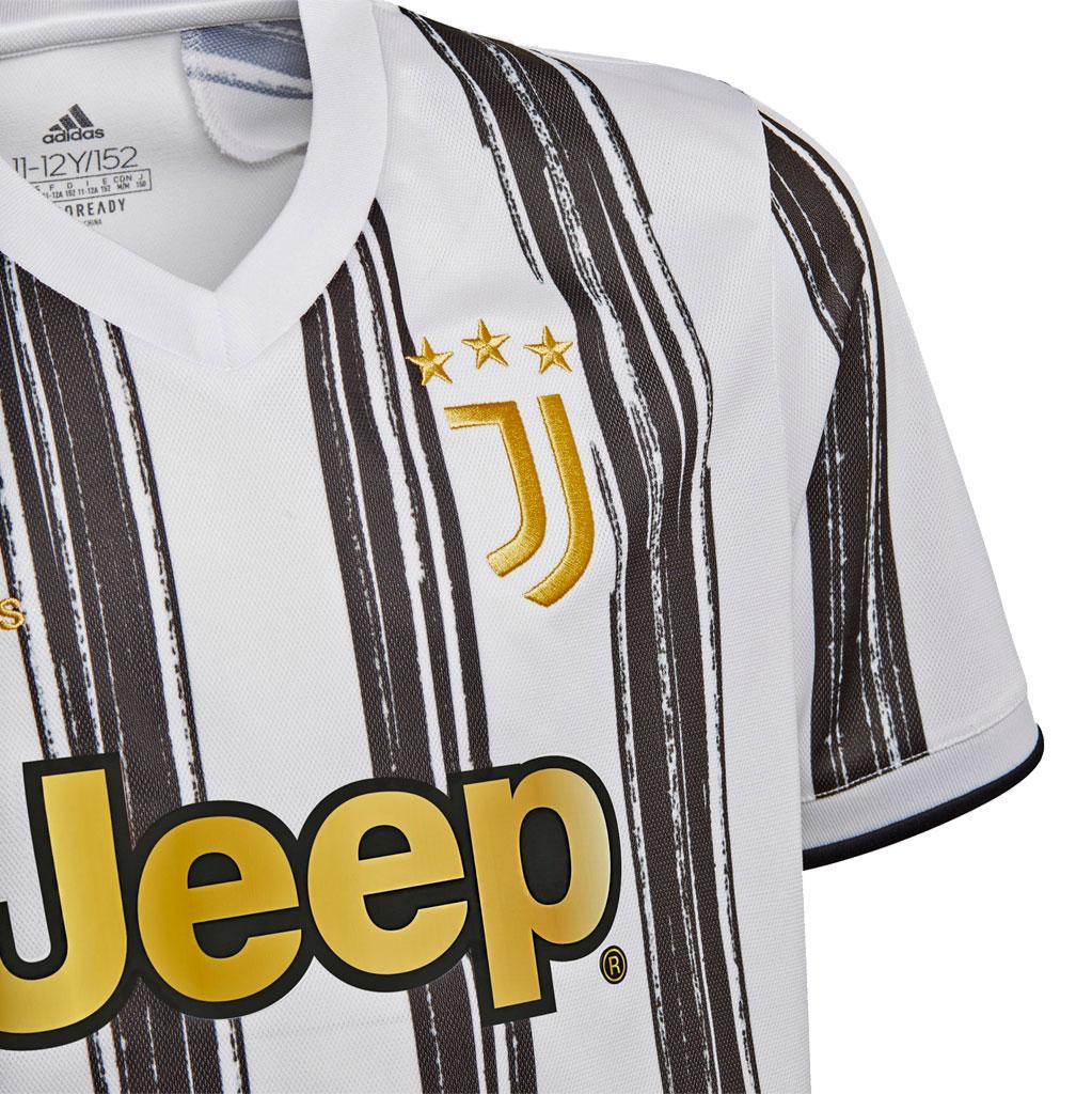 Camisa Juventus Home Adidas 2020-21 Infantil