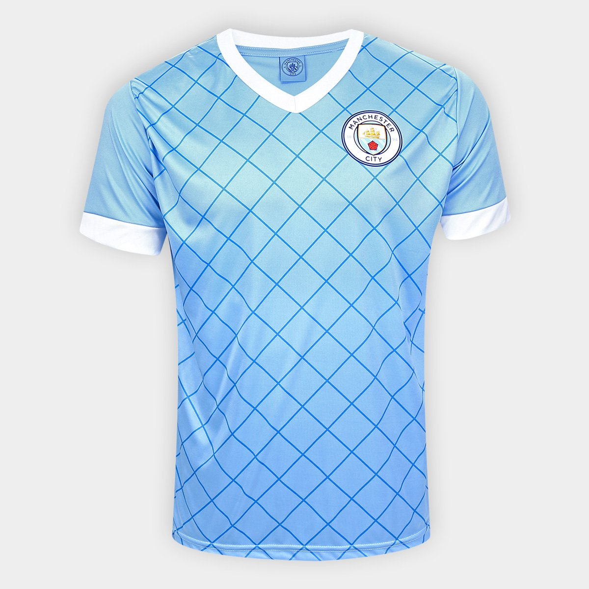 Camisa Manchester City Pattern Spr Sports Masculino