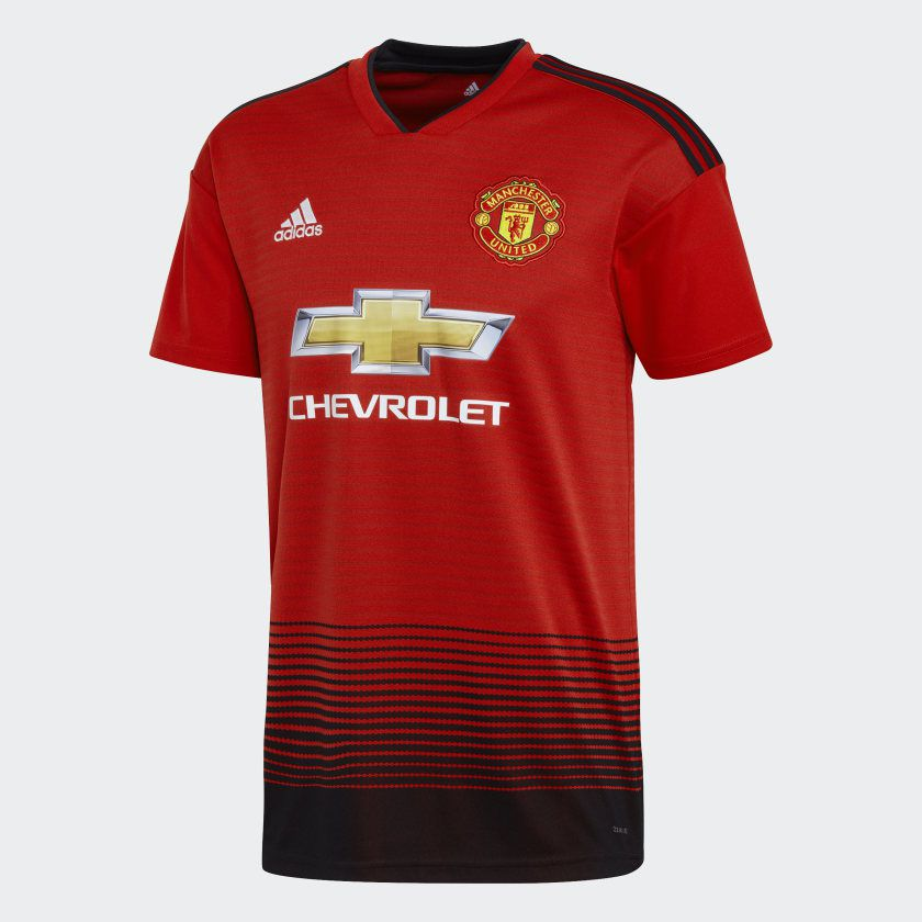 Camisa Manchester United Home Adidas 2018