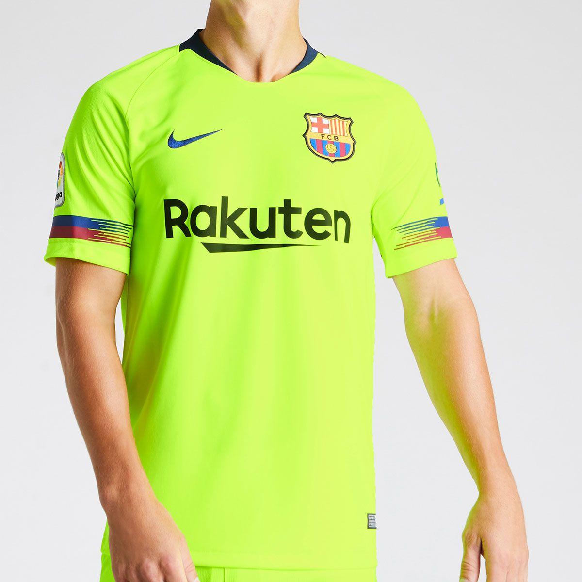 Camisa Nike Barcelona II 2018 19 Torcedor Masculina 1cd684ebe9ea8