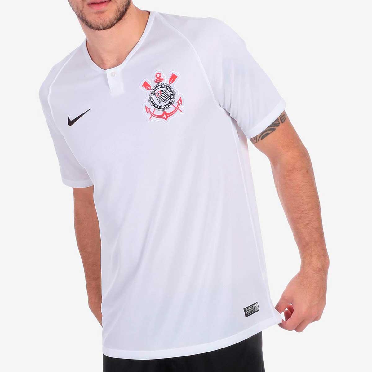 186ba588d Camisa Nike Corinthians I 2018 19 Torcedor Masculina