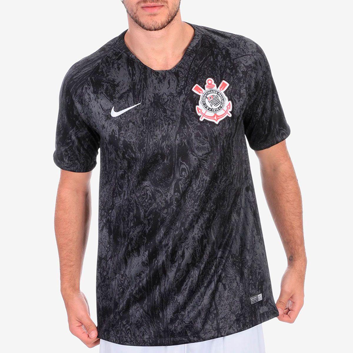 Camisa Corinthians II Nike 2018 8d6614568a09d