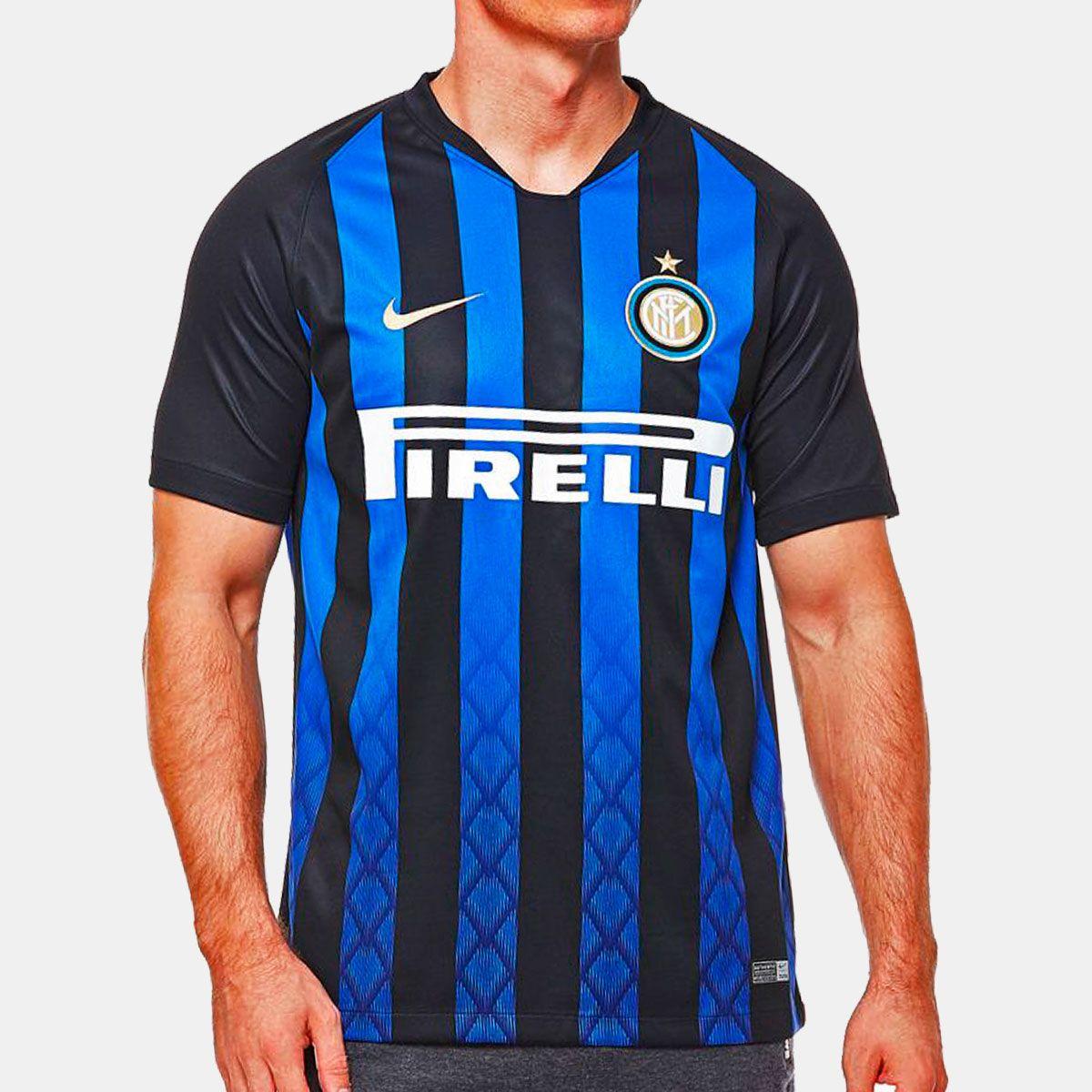 Camisa Inter de Milão Home Nike 2018 bed7283971f76