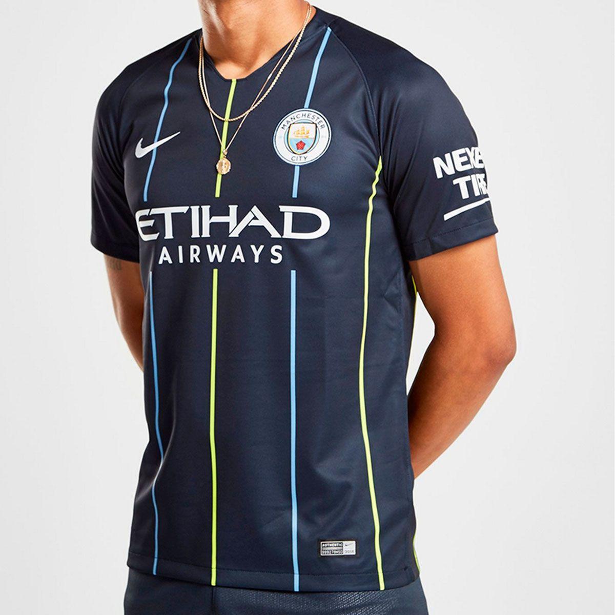15852ef4b607a Camisa Manchester City II Nike 2018/19
