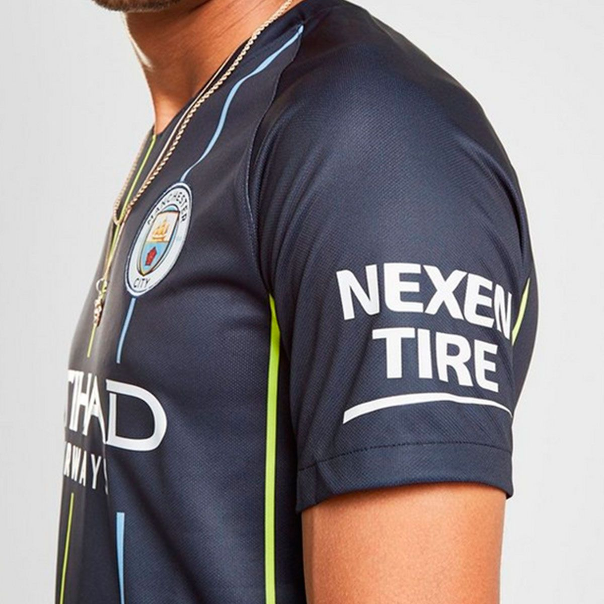 Camisa Nike Manchester City II 2018/19 Torcedor Masculina