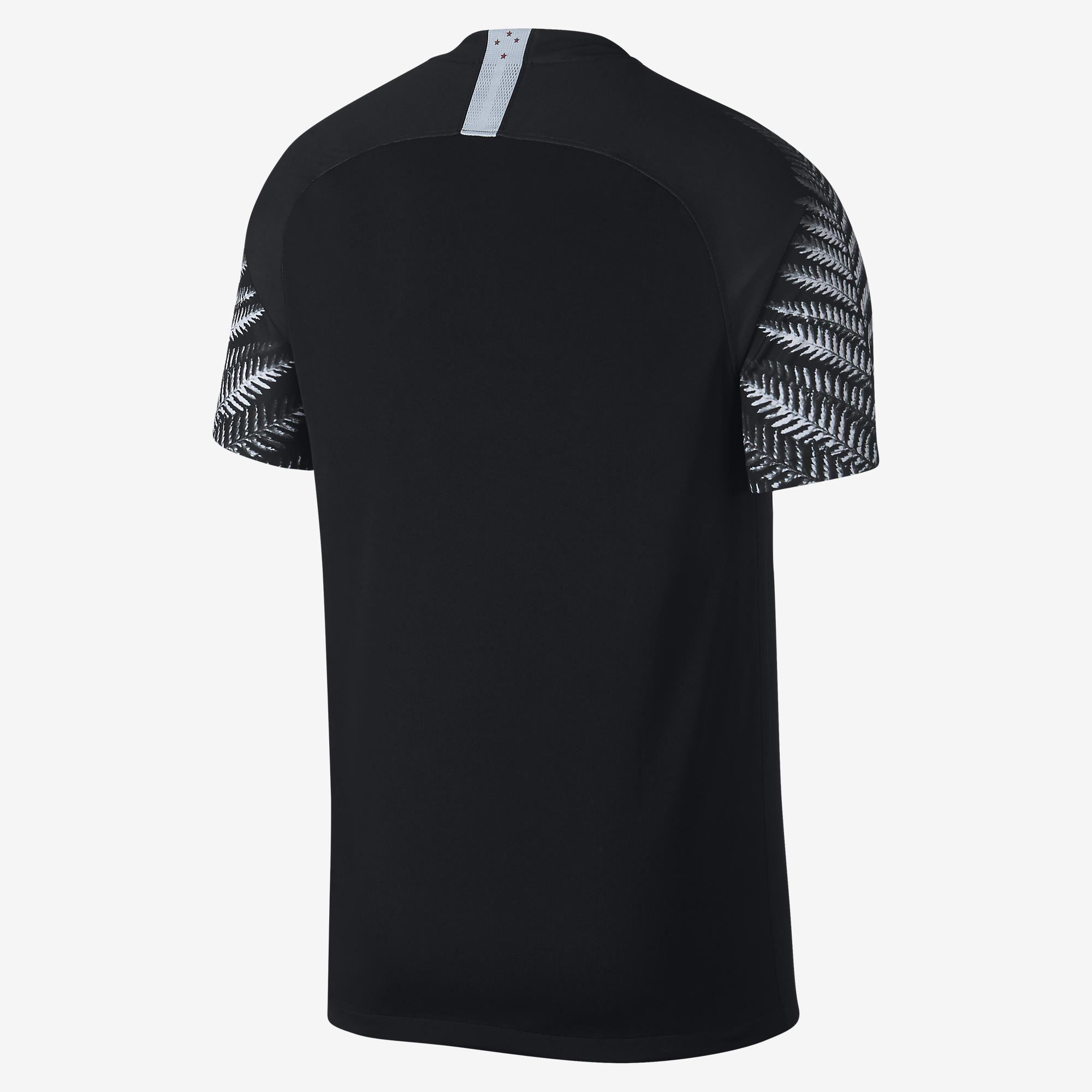 Camisa Nova Zelândia Of .1 Home 2018