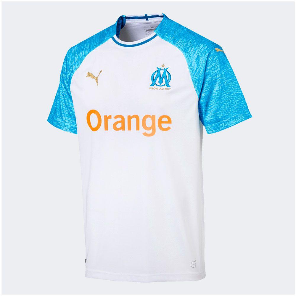 Camisa Olympique de Marseille Home Puma 2019