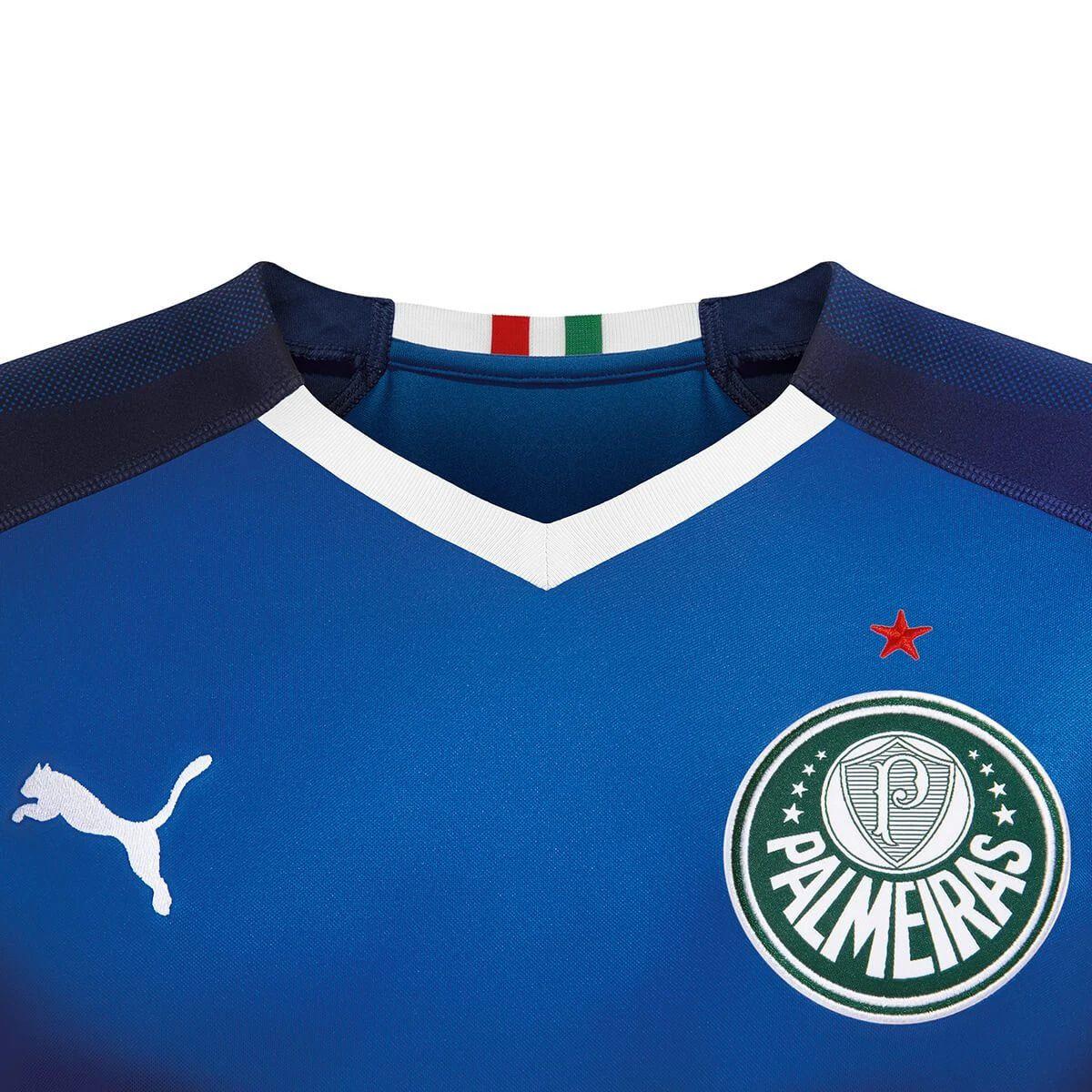 Camisa Palmeiras Goleiro I Puma 2019