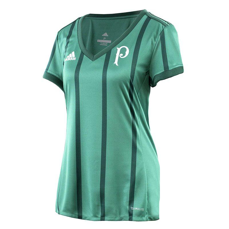 Camisa Palmeiras I Adidas 2017 Feminino