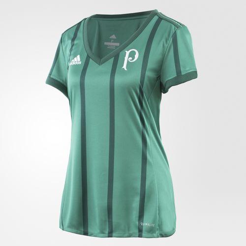 Camisa Palmeiras I Home 2017/2018 Feminino