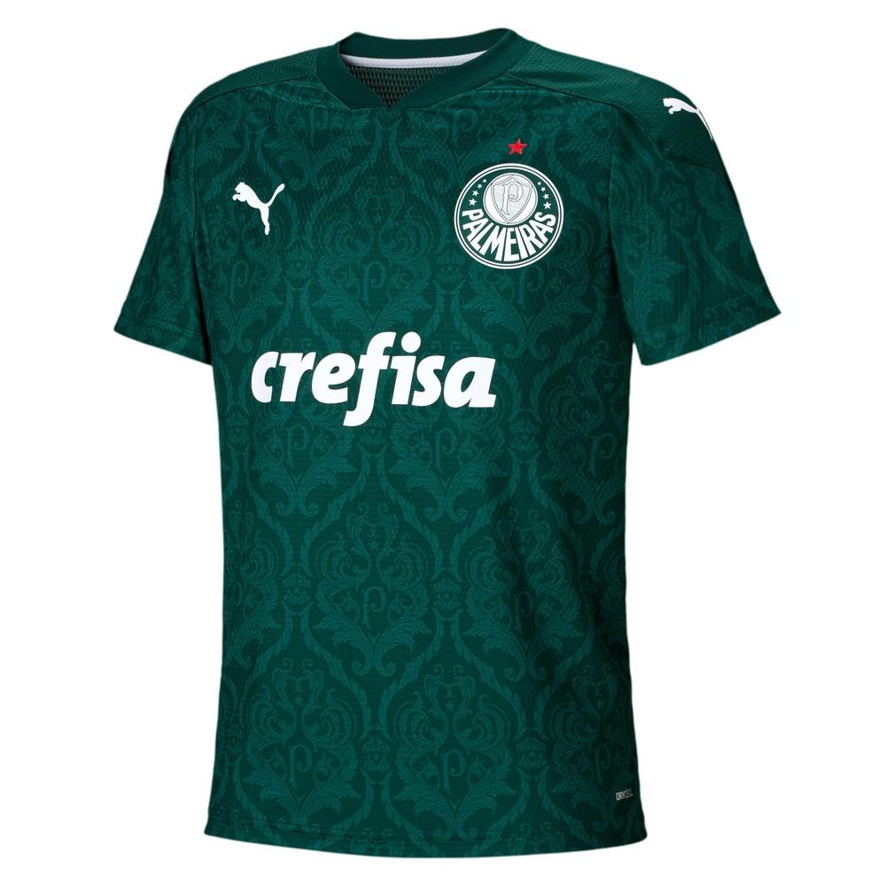 Camisa Palmeiras I Puma 2020-21 Infantil