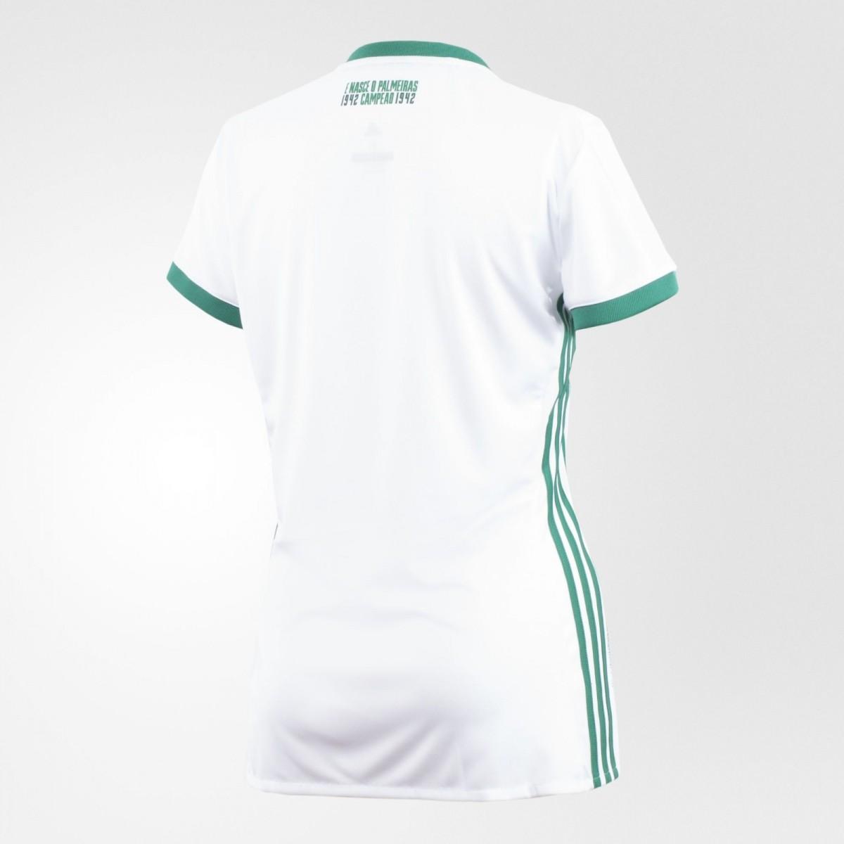 Camisa Palmeiras 2 Adidas 2017 Feminino