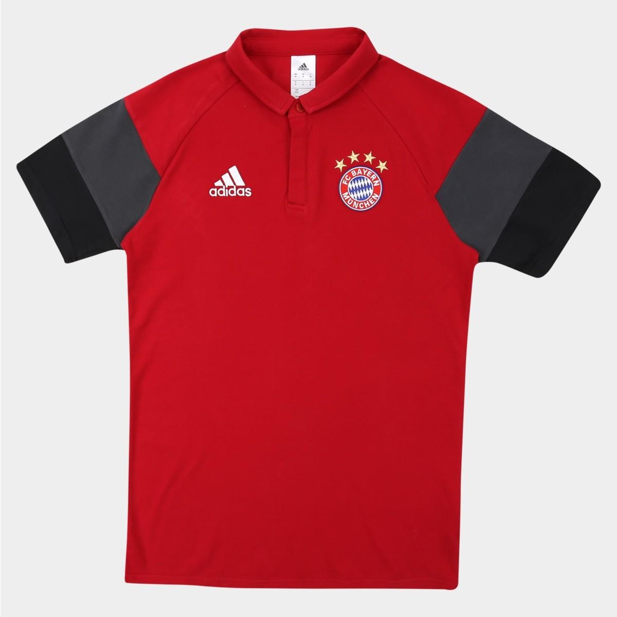 Camisa Polo Bayern Viagem 2016 7526411896671