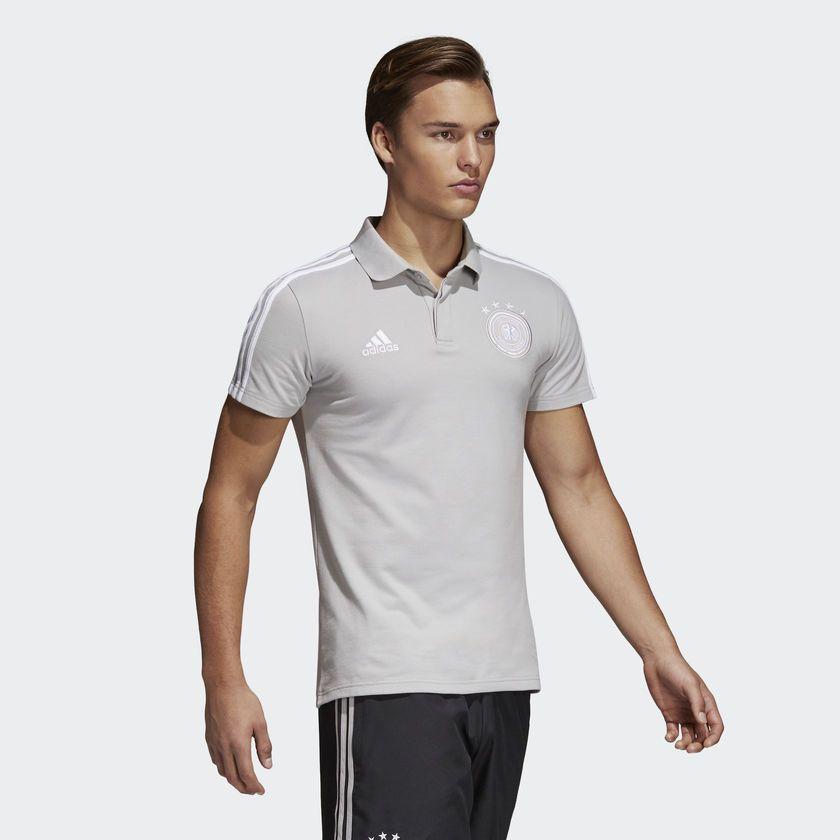 Camisa Polo Alemanha Adidas 2018