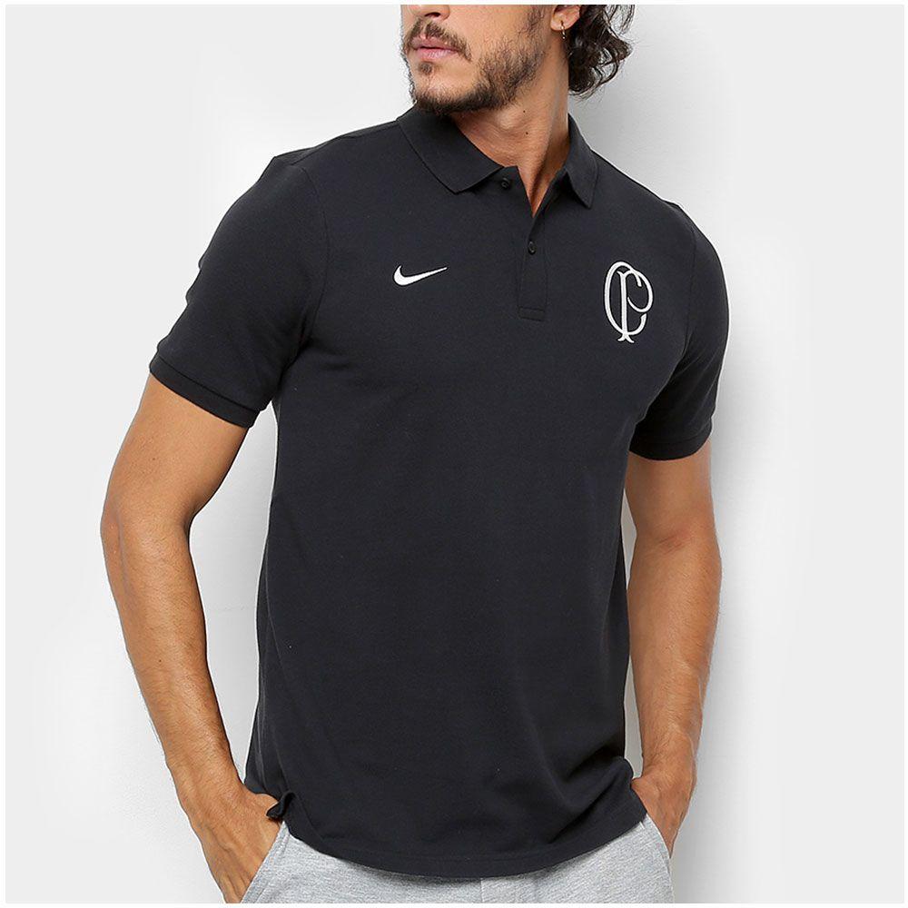 f9c155da56 Camisa Polo Corinthians Nike Sportswear