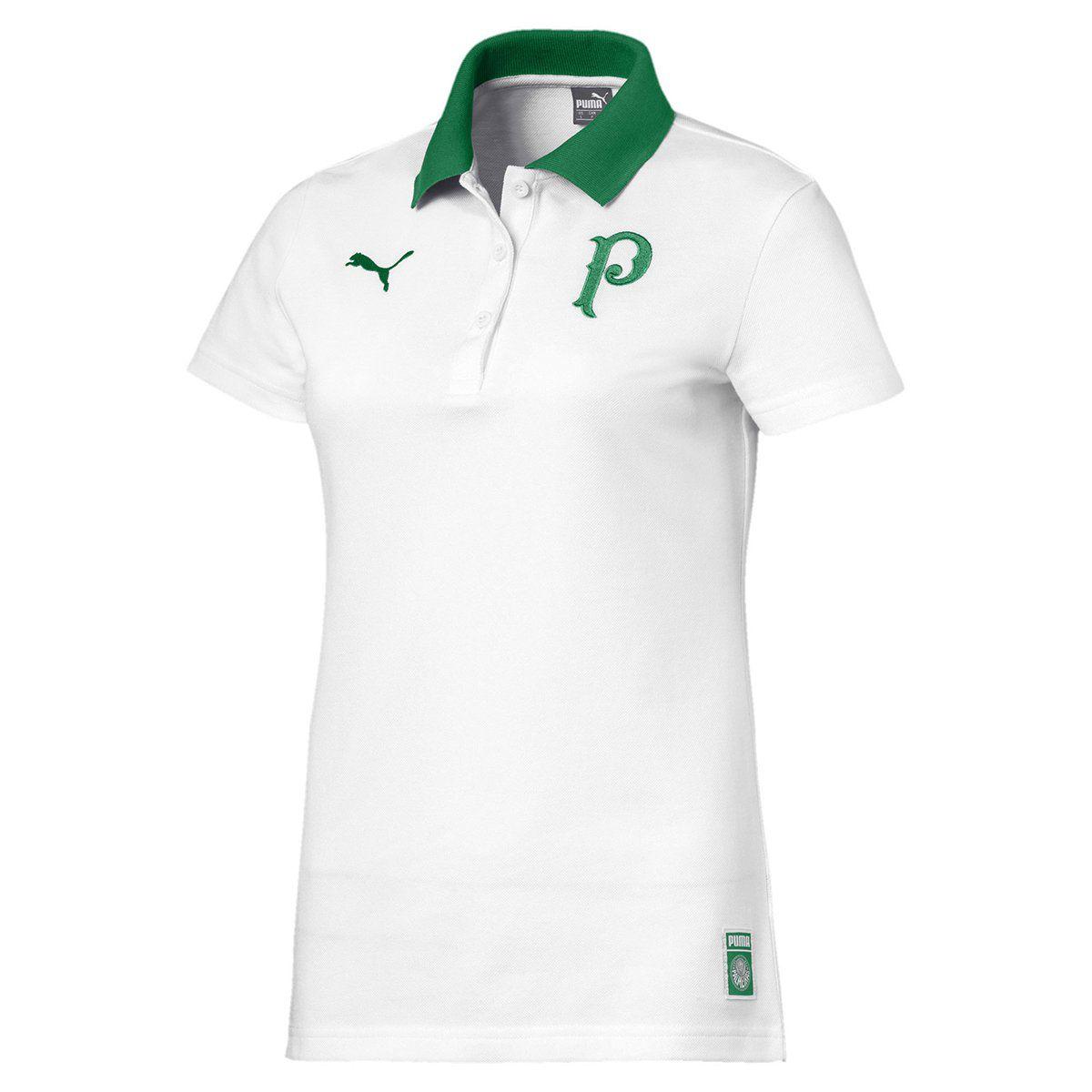 Camisa Polo Palmeiras Puma 2019 Feminina