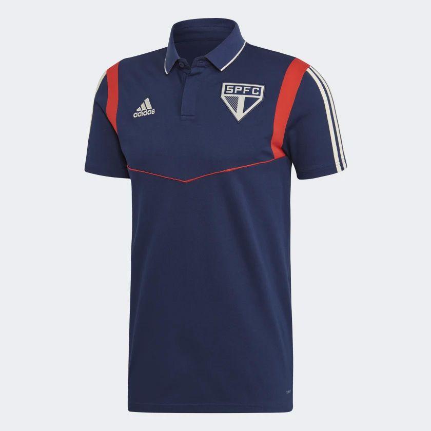 Camisa Polo São Paulo Viagem Adidas 2020