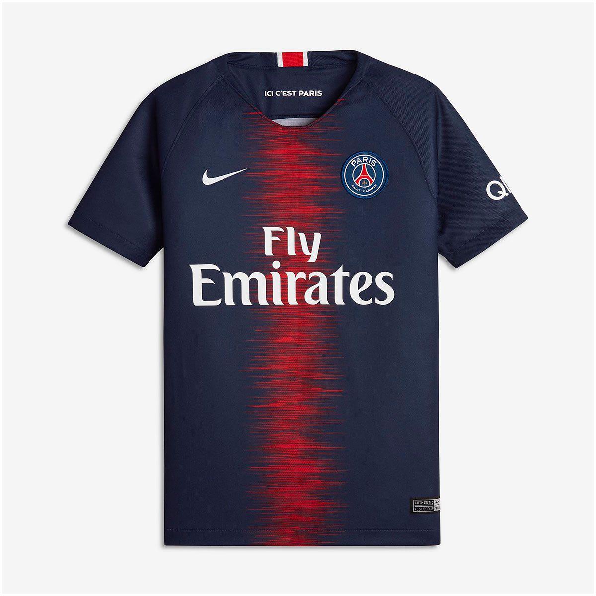 Camisa PSG Home Nike 2018 Infantil