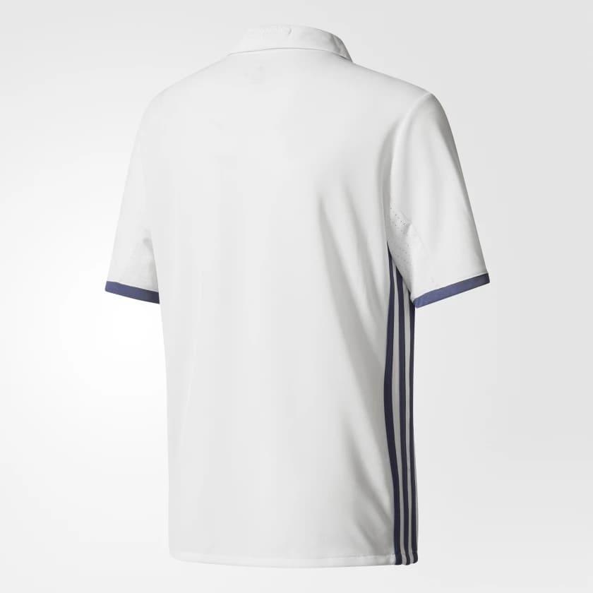 Camisa Real Madrid Home Adidas 2016/17 Infantil