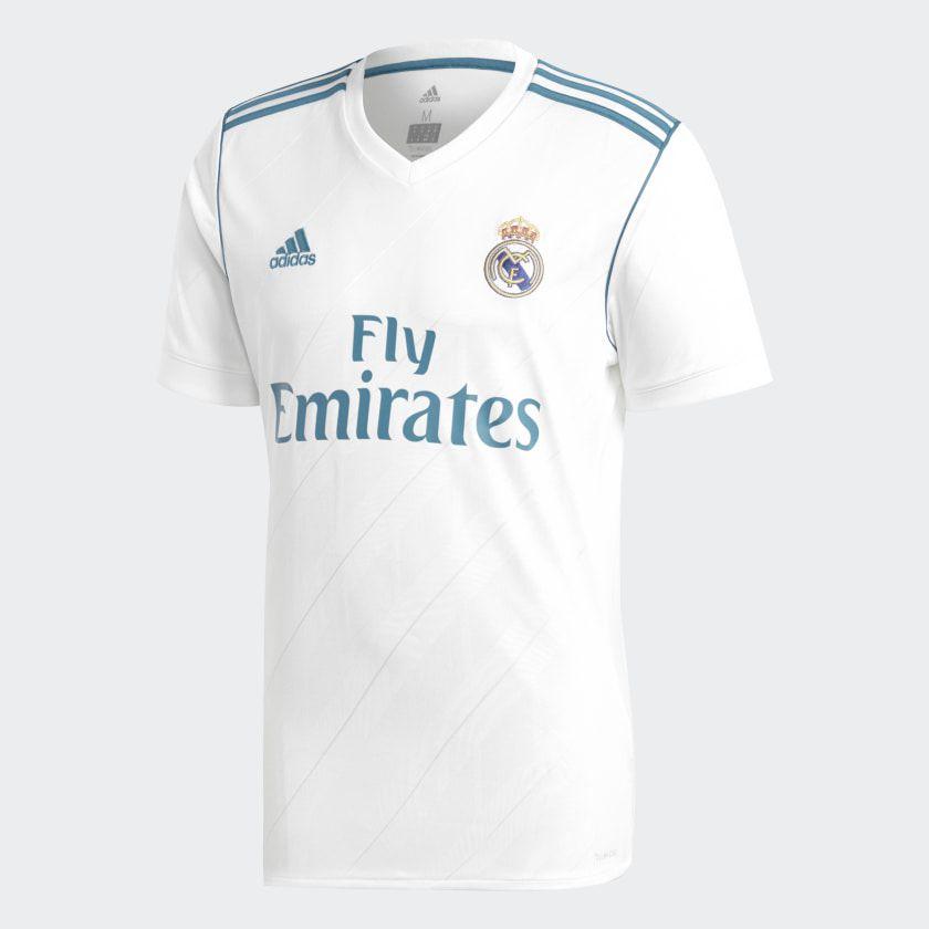 Camisa Real Madrid Home Adidas 2017/18 - 7 Ronaldo