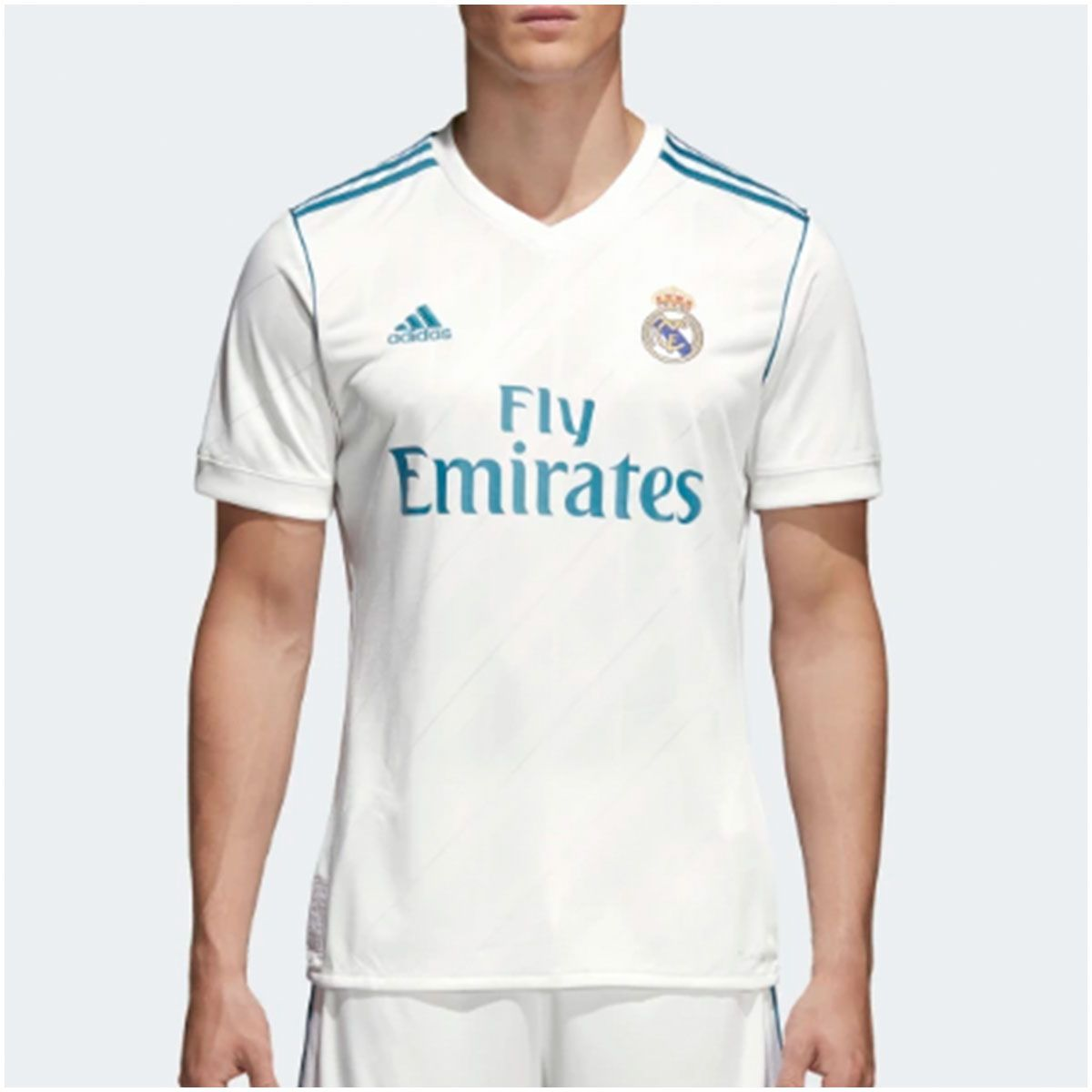 Camisa Real Madrid Home Adidas 2017 - 7 Ronaldo