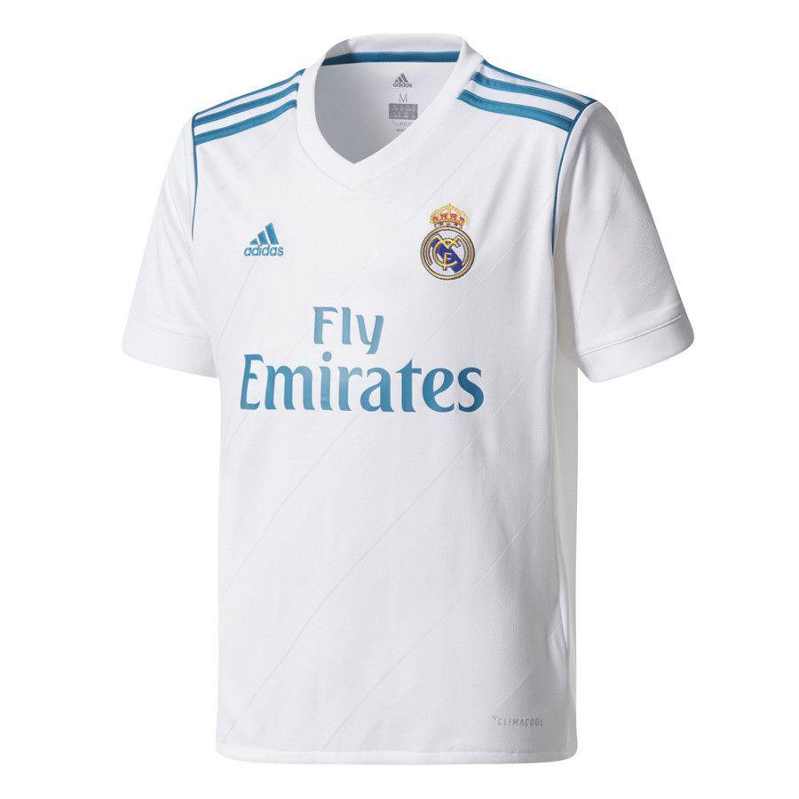 Camisa Real Madrid I Home 2017/18 Infantil