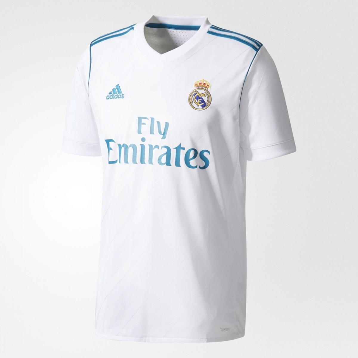 Camisa Real Madrid I Home 2017 2018 - Infantil b3b2615c26fed