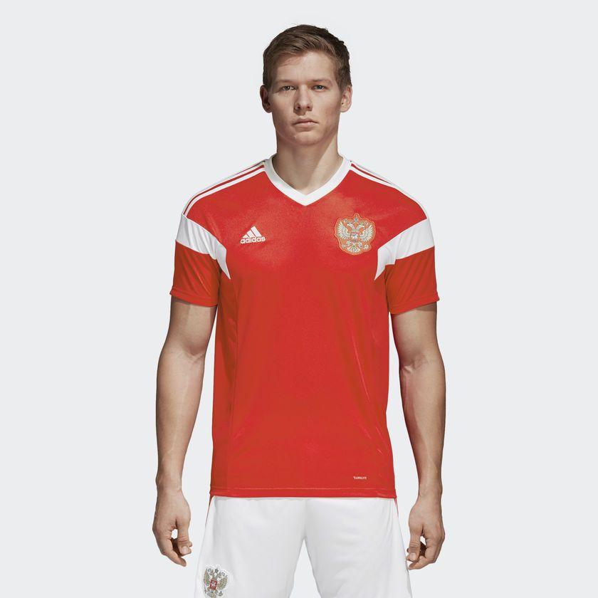 Camisa Russia Home Adidas 2018