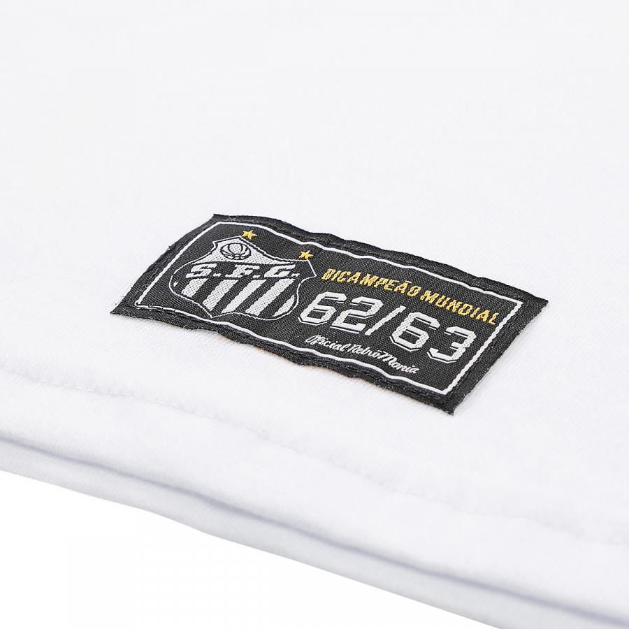 Camisa Santos Bimundial 1962-63 Retrômania Branco