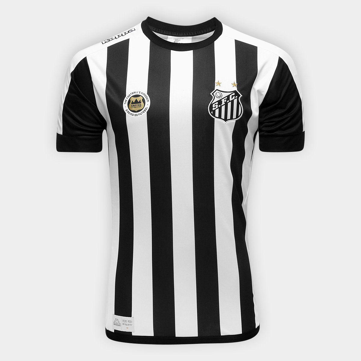 Camisa Santos II Kappa 2017