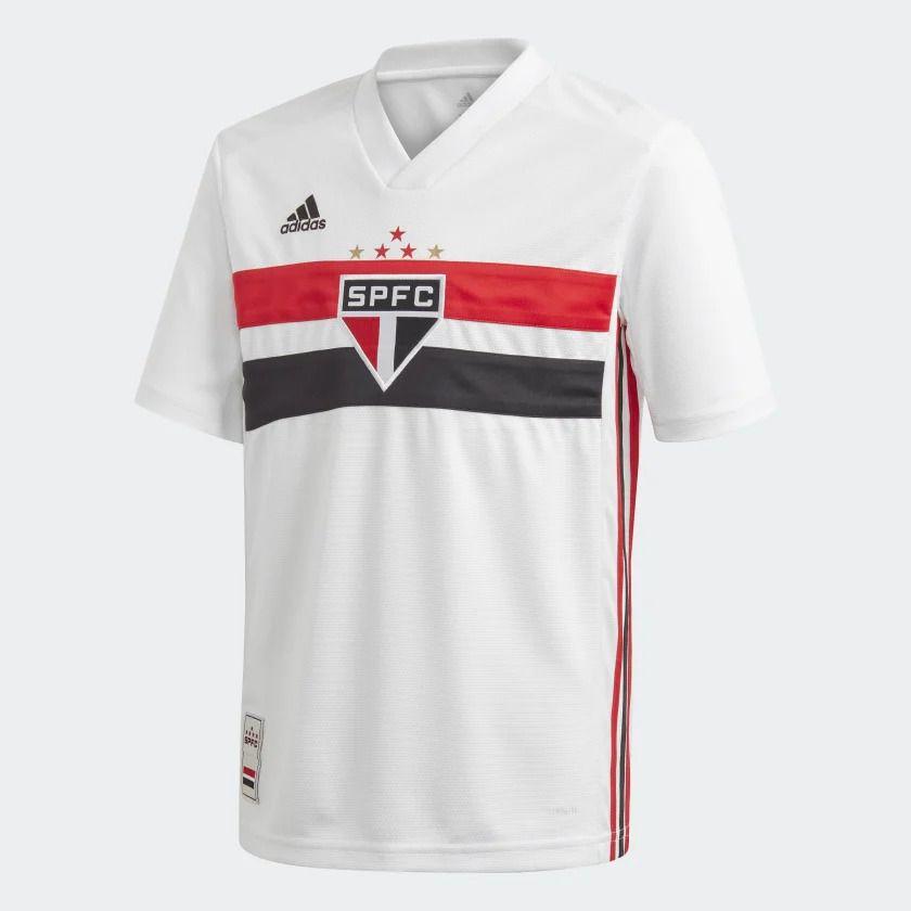 Camisa São Paulo I Adidas 2019-20 Infantil