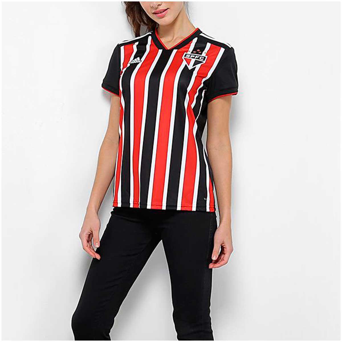 Camisa São Paulo II Adidas 2018-19 Feminina