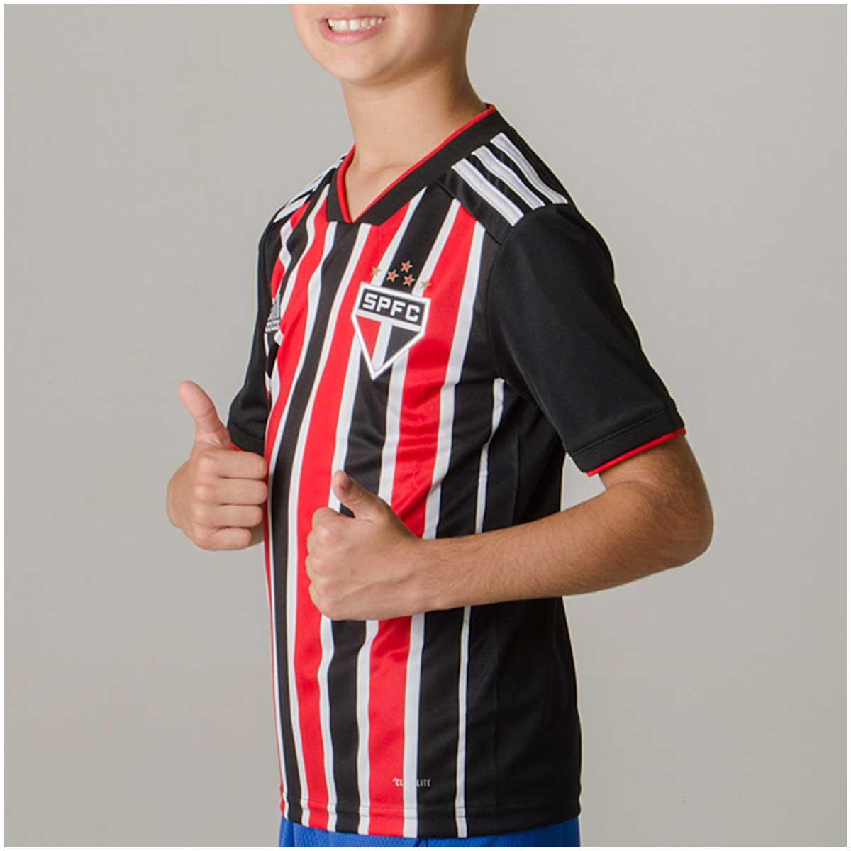 Camisa São Paulo II Adidas 2018/19 Infantil