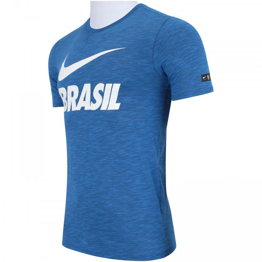 Camisa Brasil Nike Concentração 2018
