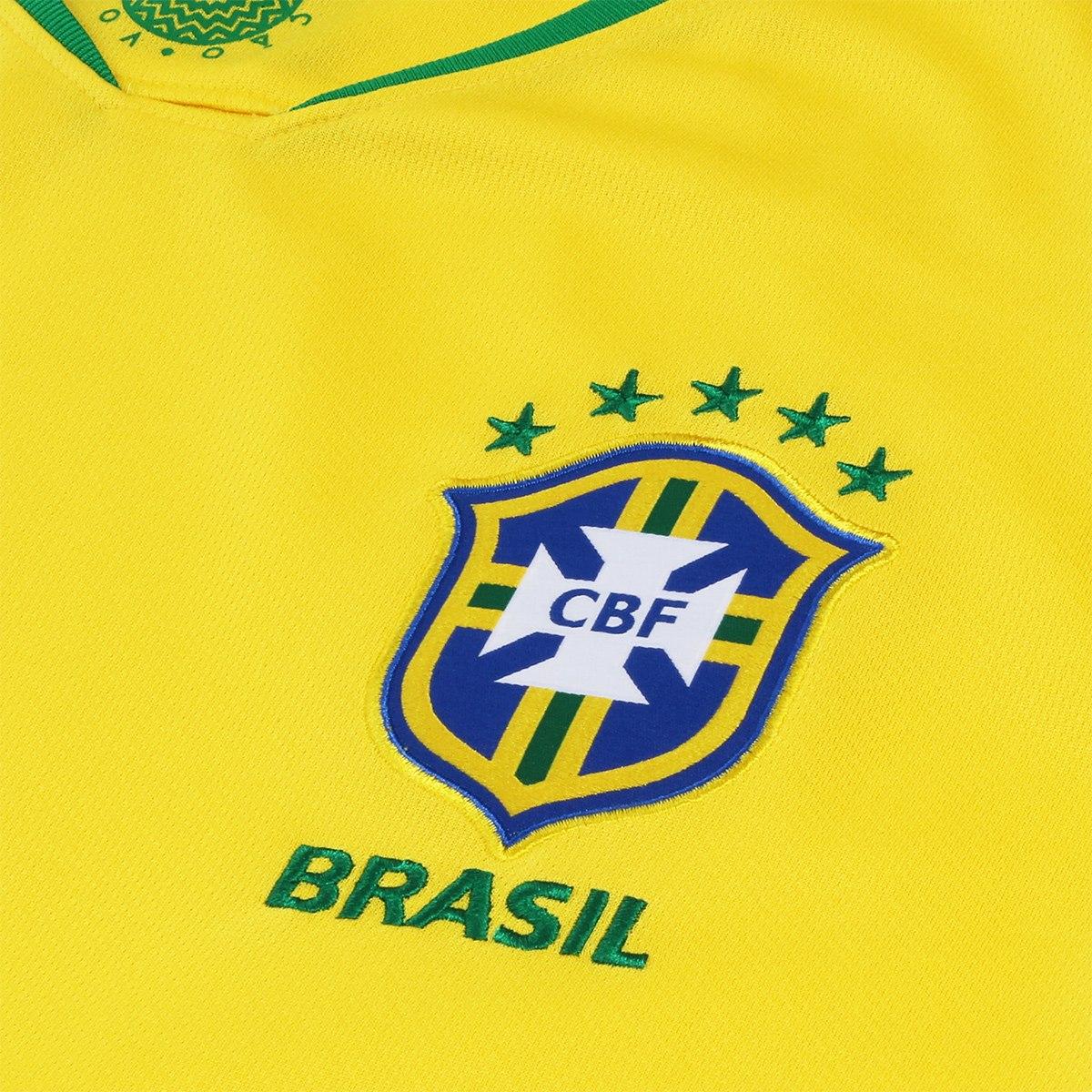 Camisa Seleção Brasileira I 2018 - Futebol Cia - Paixao por Futebol ! 108b6fabb51c3