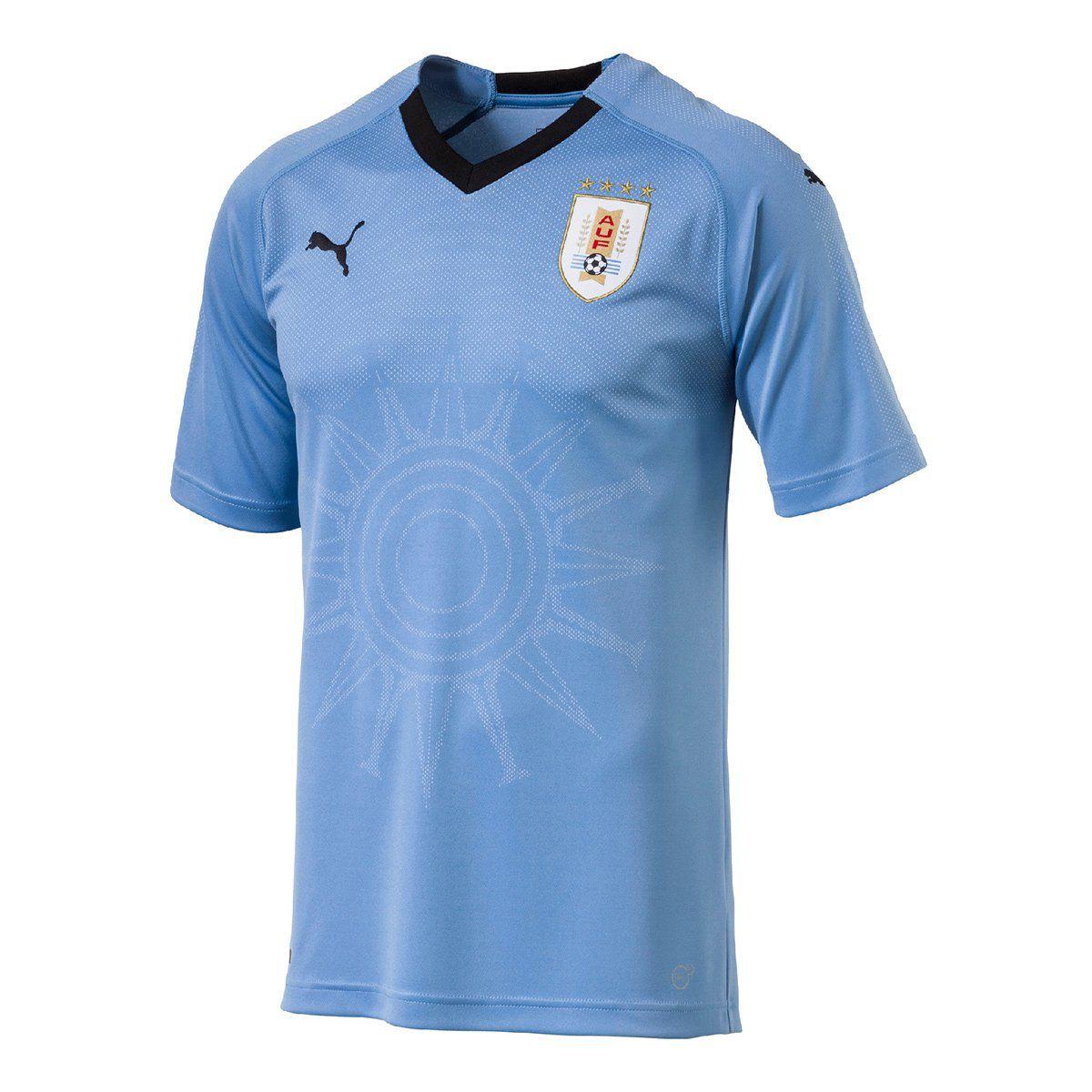Camisa Uruguai Home Puma 2018