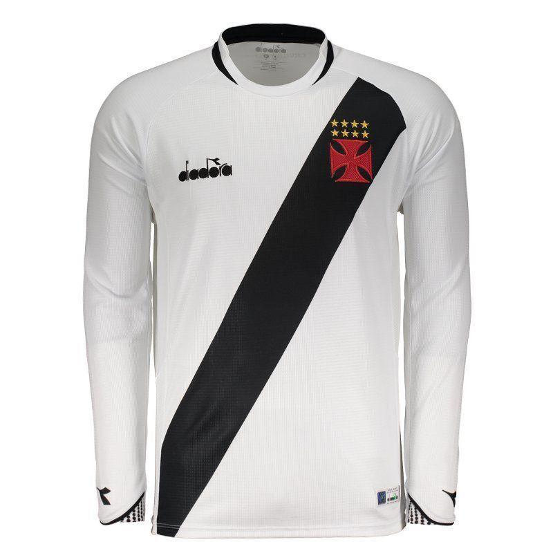 Camisa Vasco II Manga Longa Diadora 2018