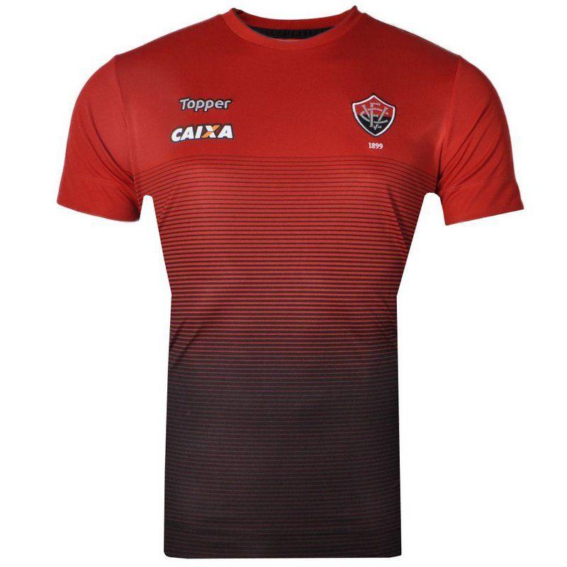 Camisa Vitória Concentração Topper 2017