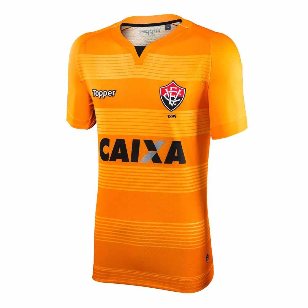 Camisa Vitoria 2017 18 Oficial I Topper 63ca445ae10d4
