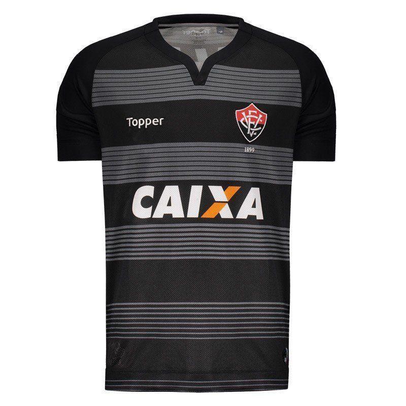 Camisa Vitória Goleiro II Topper 2017 C/P - 2ª Qualidade