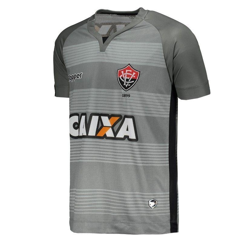 Camisa Vitoria Goleiro III 2017/18 Oficial I Topper