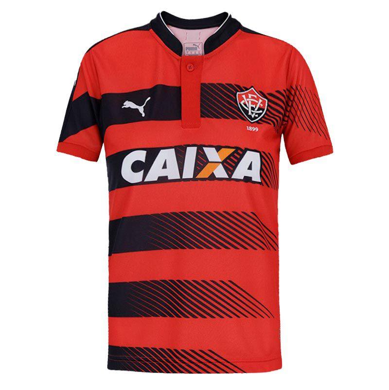 Camisa Vitória I Puma 2016 C/N - 2ª Qualidade